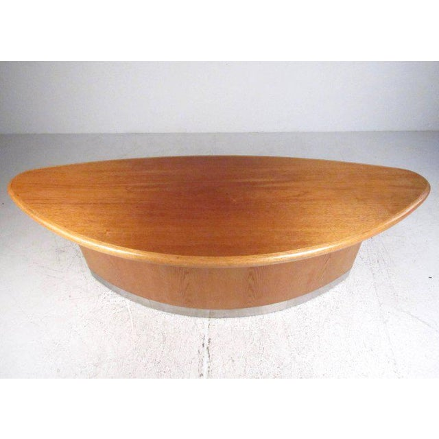 Danish Modern Scandinavian Modern Teak Centre Table For Sale - Image 3 of 11