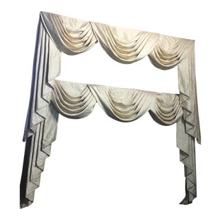 Silk Window Treatments - A Pair