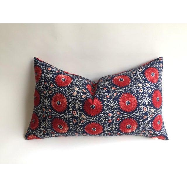 Indian Block Print Pillow - Image 2 of 6