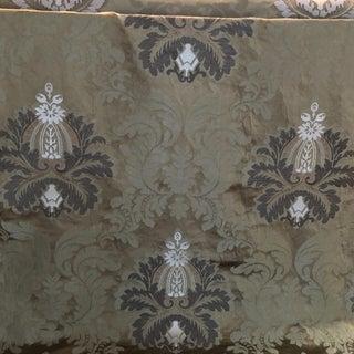 Oscar De La Renta Damask Fabric For Sale
