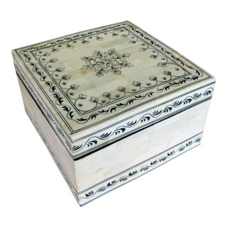 A Large Moroccan Box For Sale