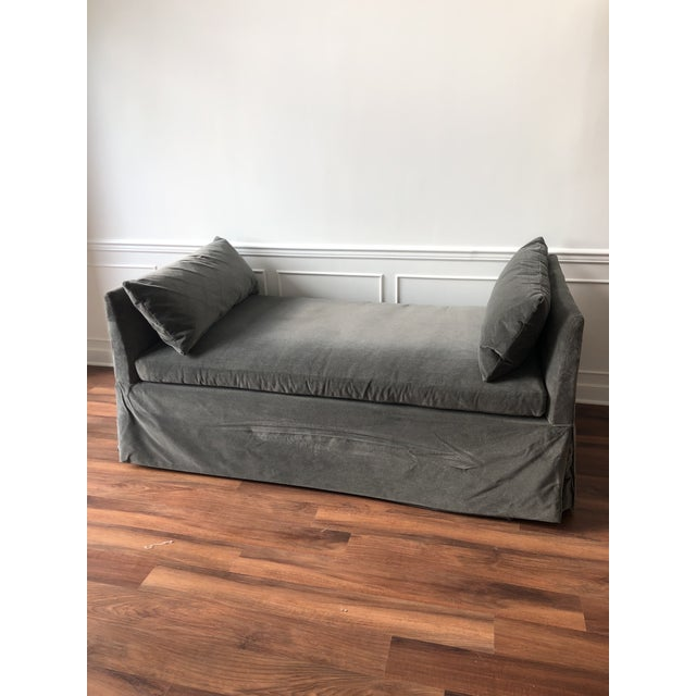 2010s Cisco Slipcovered Linda Daybed With Trundle For Sale - Image 5 of 7
