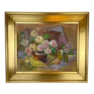 Floral Still Life by Kanya Bugreyev For Sale