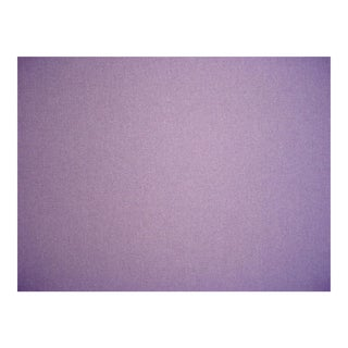 Kravet Couture Lilac Purple Heavy Wool Felt Upholstery Fabric - 6 1/2 Yards For Sale
