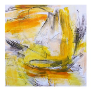 """""""Sailing High Seas"""" by Trixie Pitts Large Abstract Expressionist Oil Painting For Sale"""