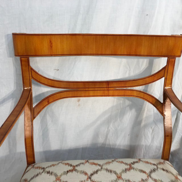 Maitland Smith Tole Armchairs - a Pair - Image 4 of 11