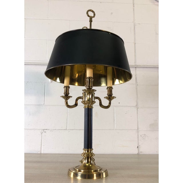 Metal 1970s Bouillote Style Table Lamp by Lane Furniture For Sale - Image 7 of 9