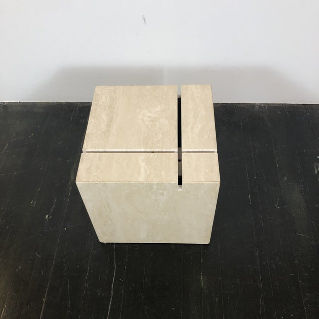 1970s Artedi Italian Marble Cocktail Table For Sale - Image 10 of 13
