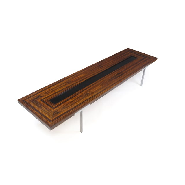 Santos Rosewood Coffee Table For Sale - Image 4 of 11