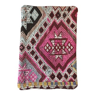 Turkish Style Cotton KIlim Pillow Cover For Sale
