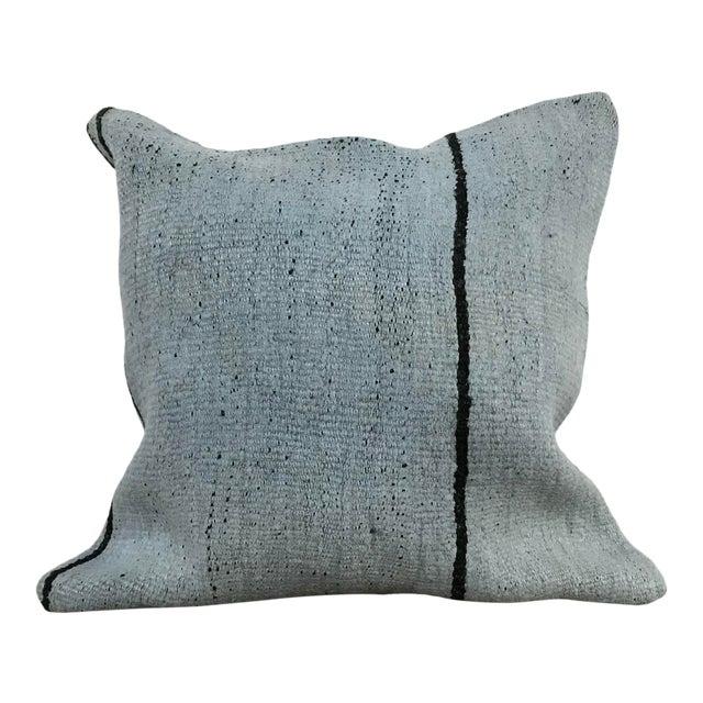 Vintage Turkish Unique Kilim Pillow Cover For Sale