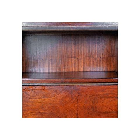 1960s Walnut Cabinet with Hairpin Legs - Image 6 of 6