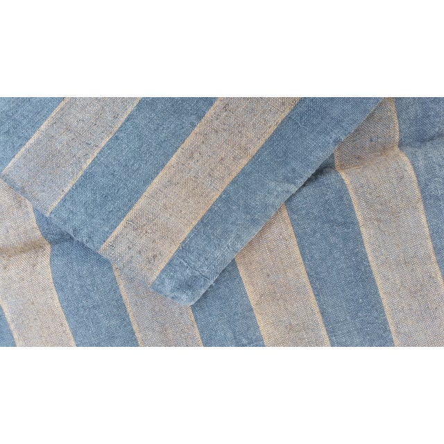 French Blue & Gray Grain Sack - Image 3 of 4