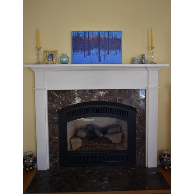 """Stephen Remick """"Nightfall in Deer Hollow"""" Contemporary Expressionist Landscape Painting For Sale - Image 11 of 12"""