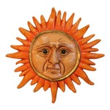 Image of Paper Mache Sun Signed by Sergio Bustamante For Sale
