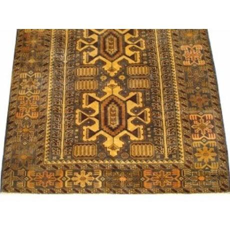 "100% Wool Tribal Rug - 3' 8"" X 5' 10"" - Image 2 of 4"