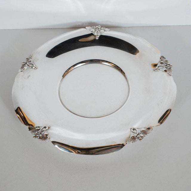 This stunning Art Deco decorative tray was realized by the Philadelphia based fabled American jeweler and producer of fine...