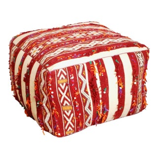 Berber Kilim Pouf For Sale