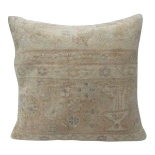 Turkish Handmade Floral Unique Pillow Cover For Sale