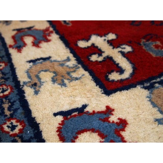 1970s Vintage Caucasian Kazak Rug - 4′ × 6′ - Image 3 of 10