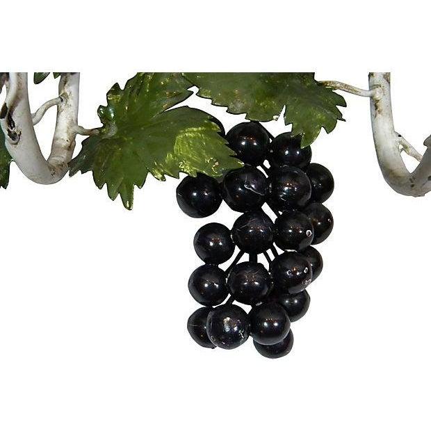 Italian Toleware Grape Candelabrum - Image 3 of 5