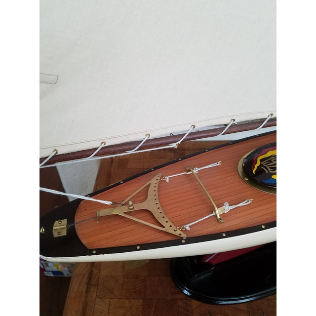 1923 Antique Sailboat Model - Image 6 of 6