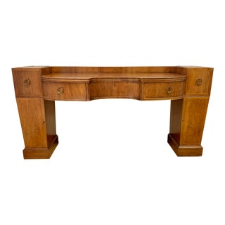 Vintage Baker Furniture Mahogany Credenza Sideboard Console For Sale