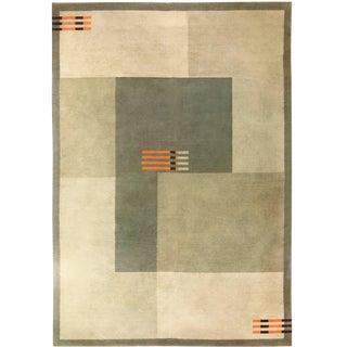 Antique Art Deco Carpet For Sale