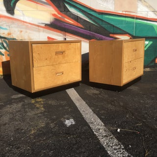 Burlwood Nightstands by Henredon-a Pair Preview
