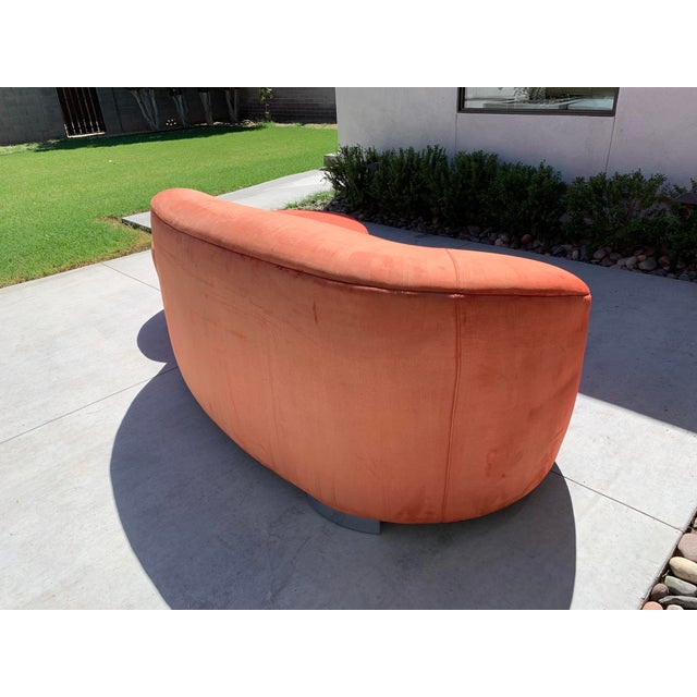 1980s Vladimir Kagan Cloud Sofa For Sale - Image 5 of 7