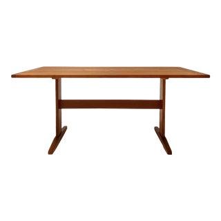 1960s Danish Børge Mogensen Bernstorffsminde Work Desk / Dining Table For Sale
