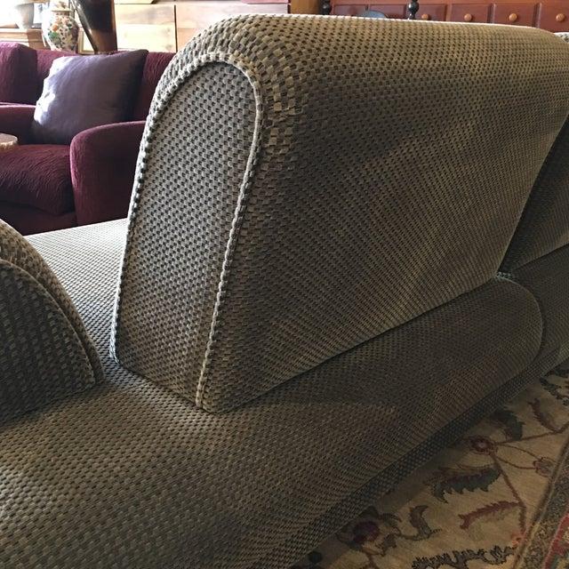 Gray Jaymar Chameleon Modern Sofa For Sale - Image 8 of 11