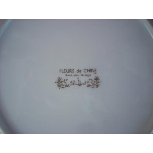 Fleurs De Chine Plate For Sale - Image 5 of 5