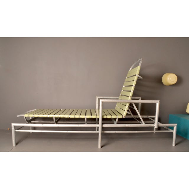 Outdoor Chaise Longue, 1960s Usa For Sale - Image 10 of 10