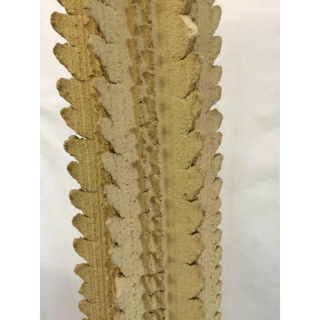 Mid-Century Concrete Cactus Sculpture - Image 5 of 6