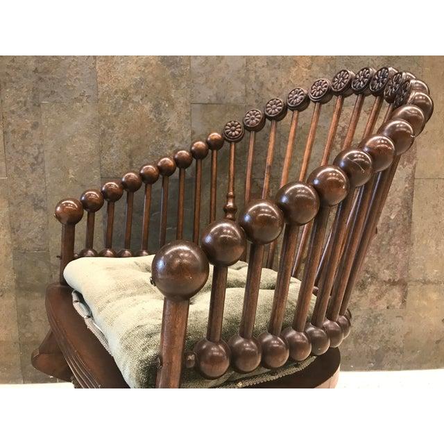 George Hunzinger Hunzinger Lollipop Platform Rocking Chair For Sale - Image 4 of 8