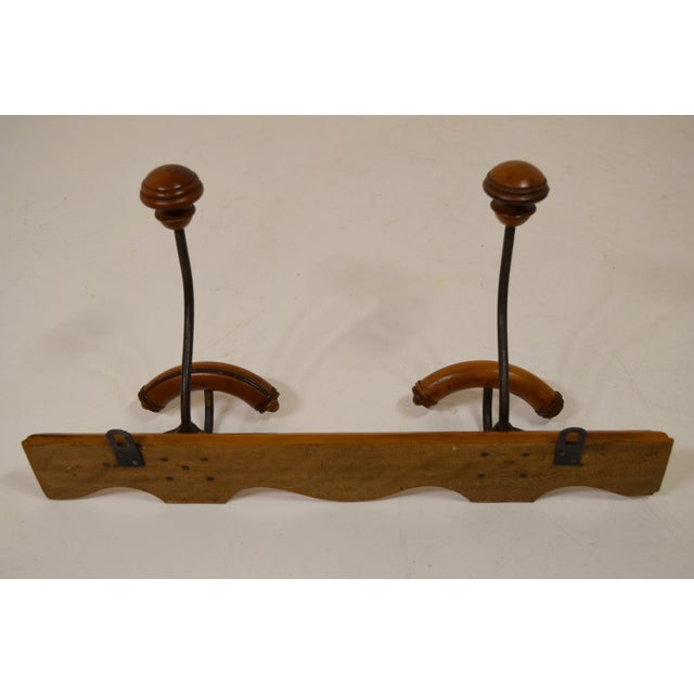 French Cherry Coat/Hat Rack - Image 6 of 8