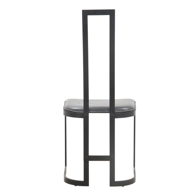Italian Art Deco Chairs - Set of 4 - Image 4 of 7