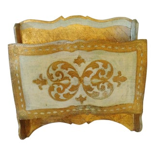 Florentine Wall File Holder For Sale