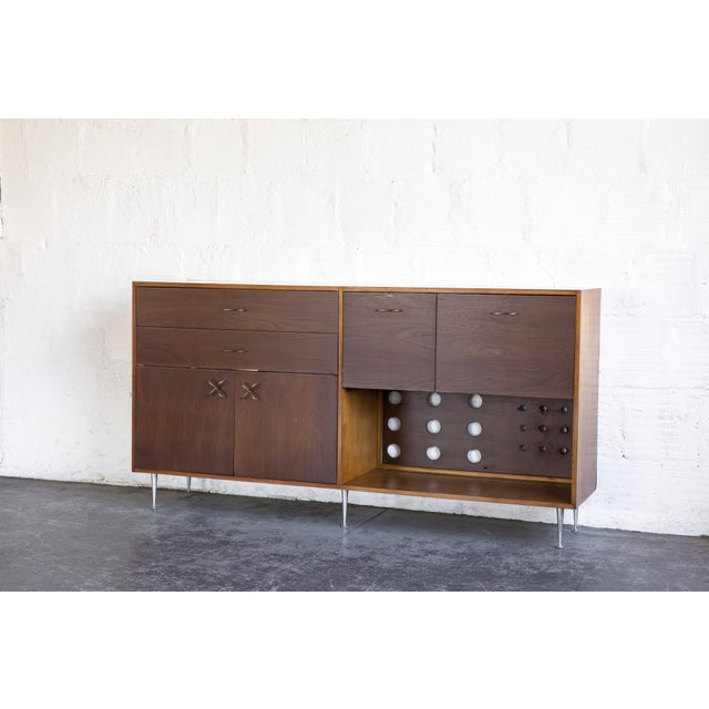 1970s 1970s Mid-Century Modern George Nelson for Herman Miller Credenza For Sale - Image 5 of 13