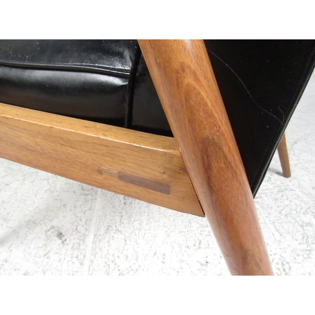 Pair of Vintage Modern Armchairs For Sale - Image 11 of 13