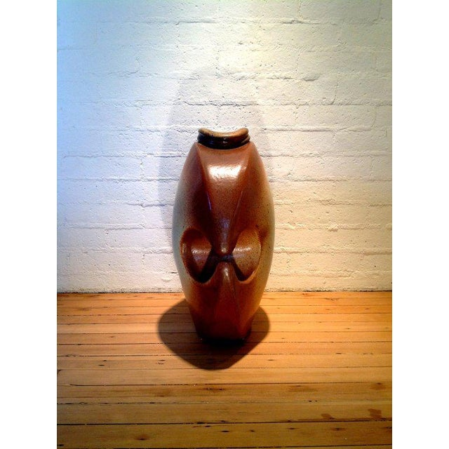 A monumental studio pottery vessel signed Hammer - Image 2 of 6
