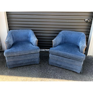 Mid Century Chinelle Swivel Chairs - a Pair Preview