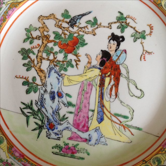 Antique Hand Painted Decorative Plate - Image 3 of 5