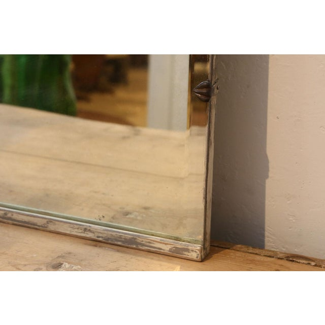 Early 20th Century Asymmetrically-Shaped Art Nouveau Mirror For Sale - Image 5 of 10