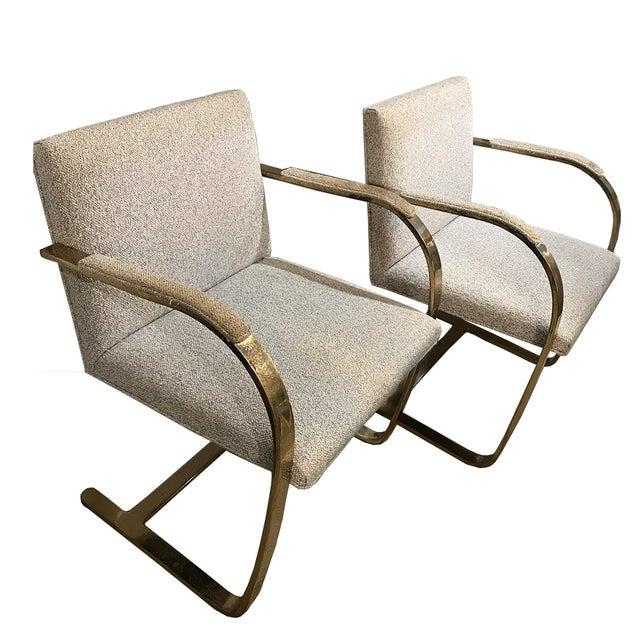 Mies Van Der Rohe Chairs For Knoll A Pair Chairish