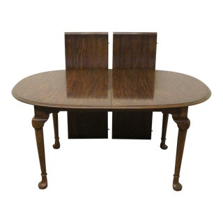 20th Century Jacobean Pennsylvania House Oak Dining Table For Sale