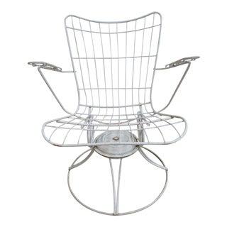 Vintage Mid-Century Homecrest Outdoor Patio Lounge Chair