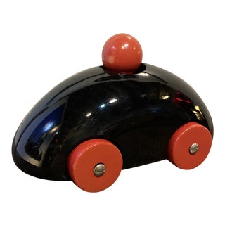 Ulf Hansen for Playsam Classic Red Wooden Car Toy For Sale