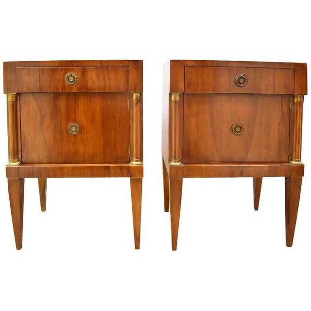 Pair of Vintage Italian Nightstands For Sale - Image 10 of 10